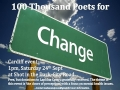100 Thousand Poets for Change - Cardiff