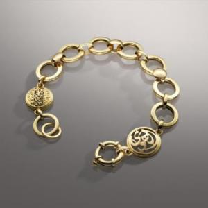Ibn Hazm inspired jewelry from Azza Fahmy.
