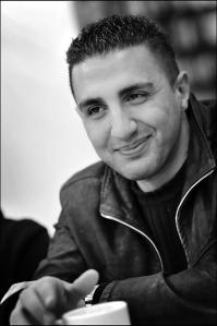 Najwan Darwish, écrivain, Bruxelles, mars 208