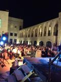 The audience in Nablus.