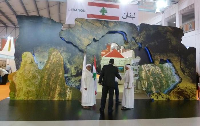 "Lebanon's ""guest of honor"" pavilion. Photo credit: Kate Kasimor."