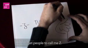 From a video profile on Z, done by Samar Media. Click to watch.