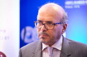 Al-Bazei at the shortlist announcement. Photo credit:
