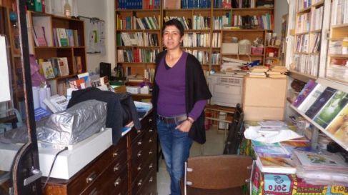Jamila Hassoune and books.