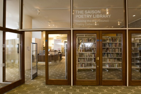 The Saison Poetry Library.