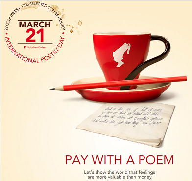 'Pay With a Poem' and Four More Ways to Celebrate World Poetry Day