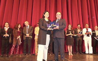 Tunisia's 2015 Golden Comar Prizes to Shukri al-Mabkhout, Anouar Attia