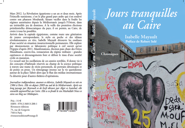 Three Poems from 'Jours Tranquilles au Caire'