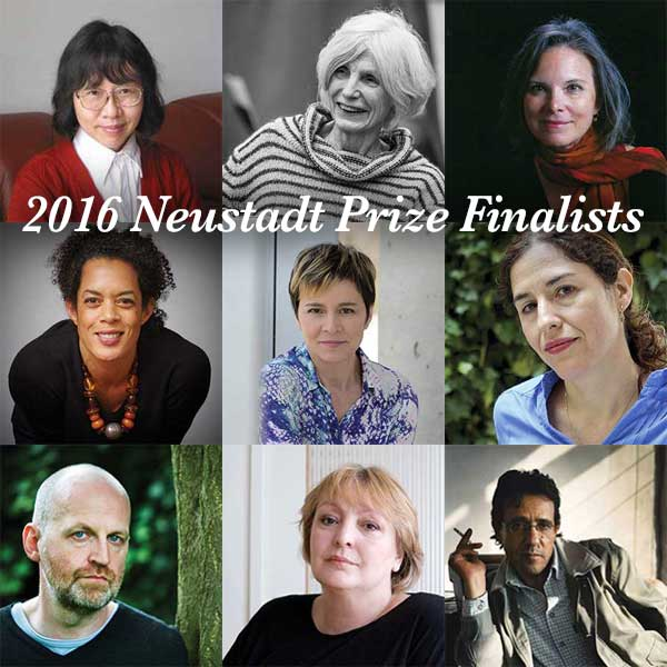 Majority of 2016 Neustadt Finalists Are Women; Ghassan Zaqtan Makes List a Second Year