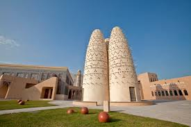"An image of the Katara cultural village from ""Marhaba Qatar."""