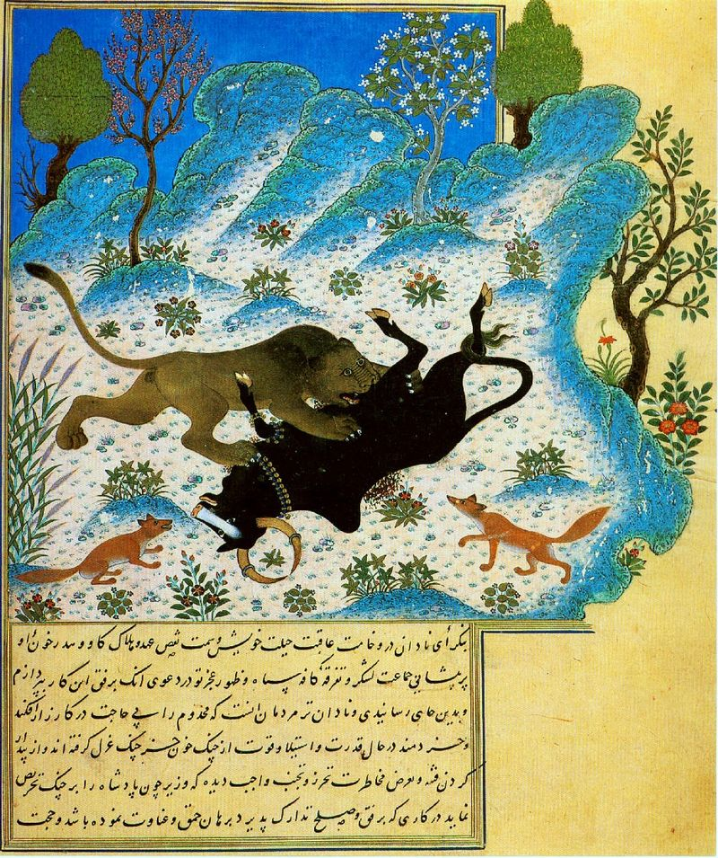 Arabic Literature in Persian, Persian Literature in Arabic