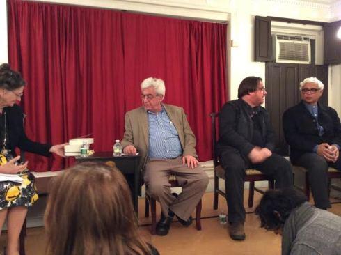 Marina Warner, Elias Khoury, Sinan Antoon, and Amitav Ghosh.