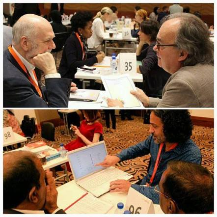The publishing conference's matchmaking sessions have also exploded, with a reported 250+ rights professionals from around the world.