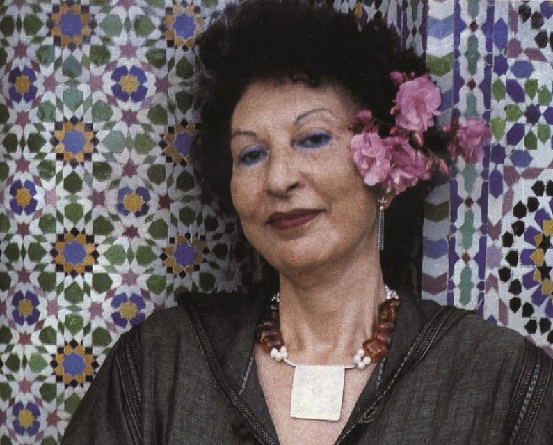 Moroccan Writer and Scholar Fatema Mernissi, 75