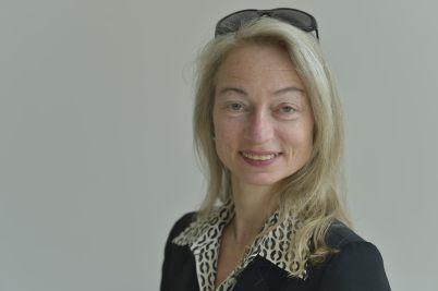 Translator-editor Beatrice Gründler.