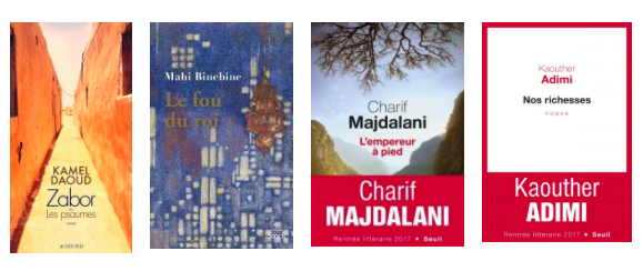 Books by Kaouther Adimi, Kamel Daoud, Charif Madjalani, and Mahi Binebine Make Fall French Prize Lists