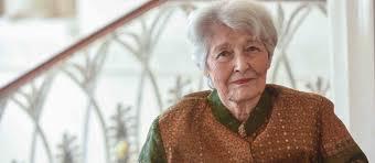 Lebanese Novelist Emily Nasrallah, 86